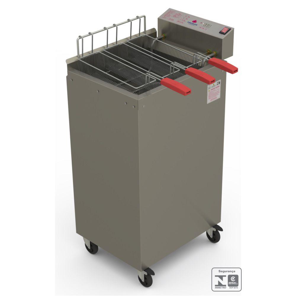 Fritador Água e Óleo 5000W Eletrônico 22 litros PR-2000EL 220V Progás