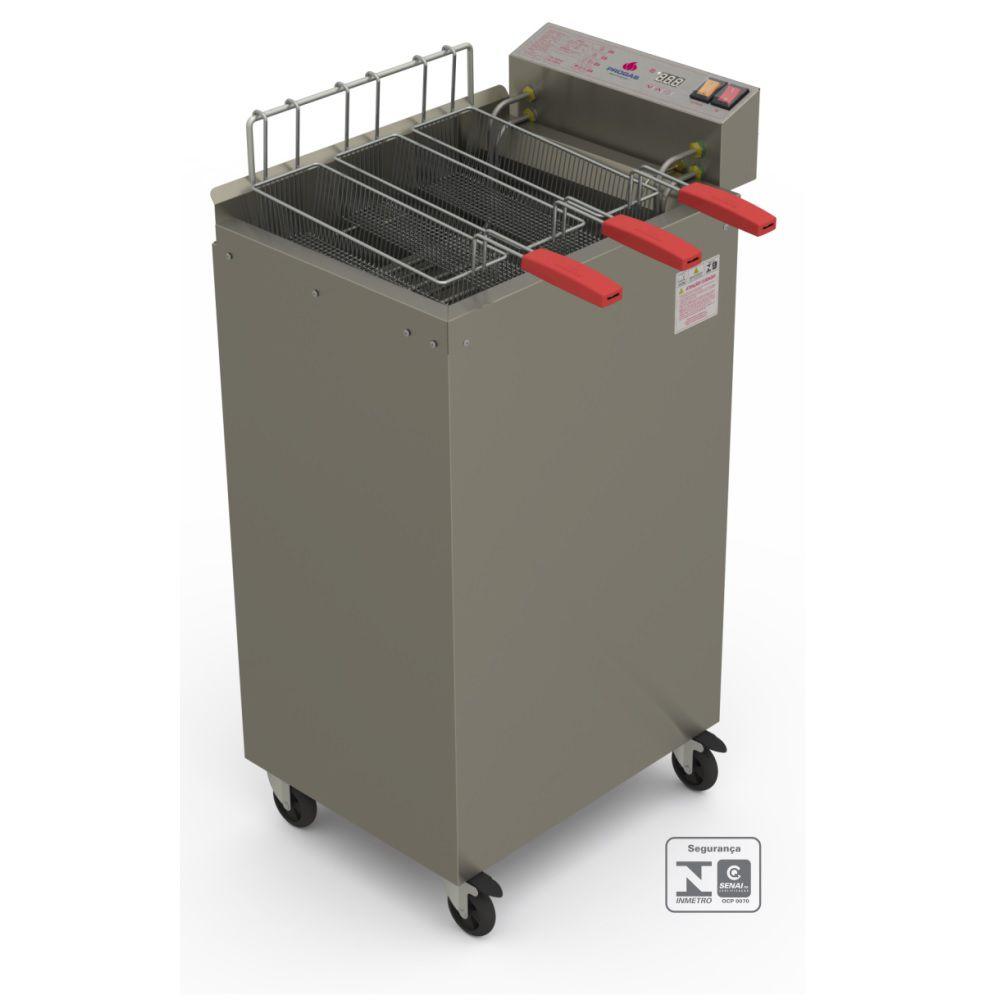 Fritador Água e Óleo 8000W Eletrônico 22 litros PR-2008EL 220V Progás
