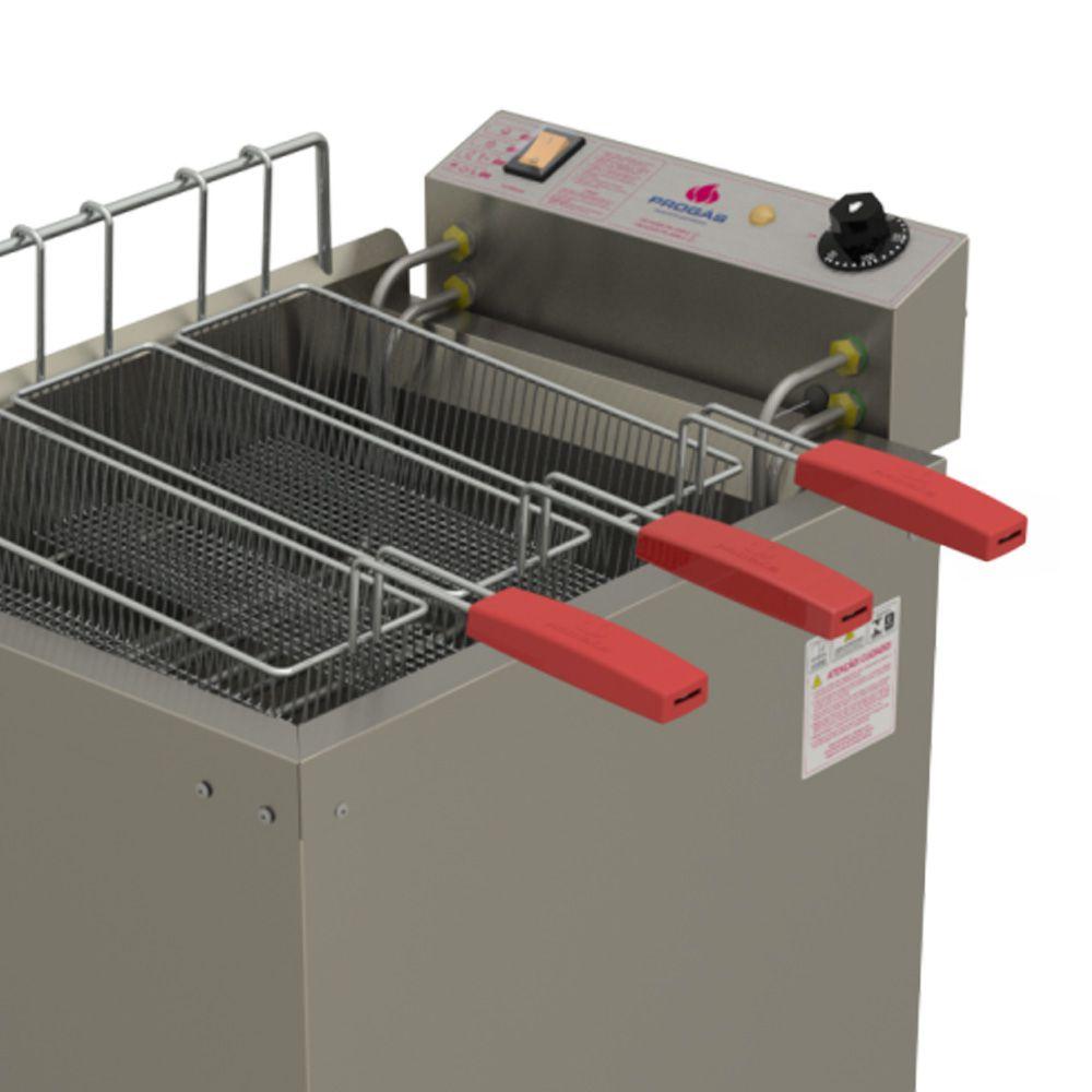 Fritador Água e Óleo Fry Fritter 8000w  PR-2008E ST 220V Progás