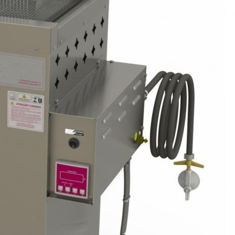 Fritador Água e Óleo Fry Fritter Style 30 Litros a Gás Baixa Pressão PR-3000BPAT 127V Progás