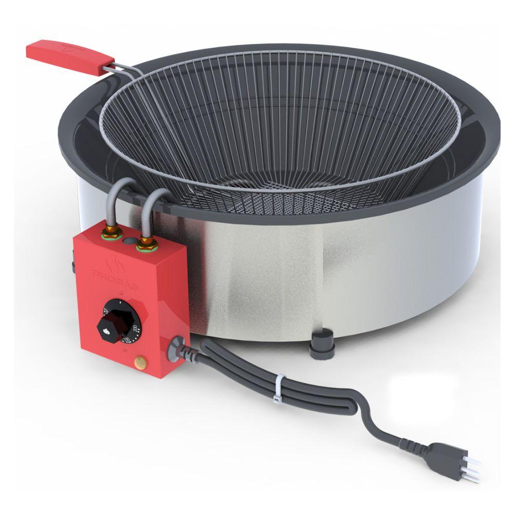 Fritador Pasteleiro Elétrico de Mesa 14 Litros PR-14E 127V Progás