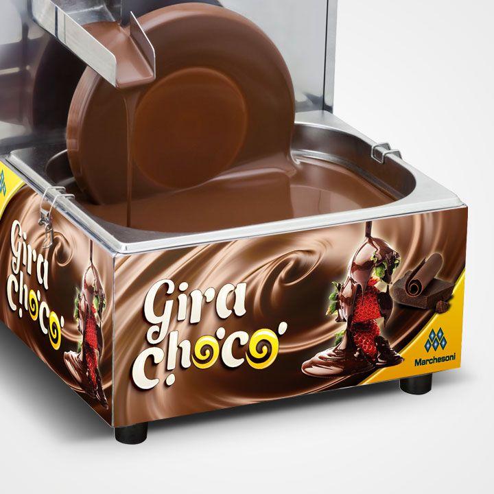 GIRA CHOCO DERRETEDEIRA C/ 1 RODA 5KG GC.1.151/152 MARCHESONI