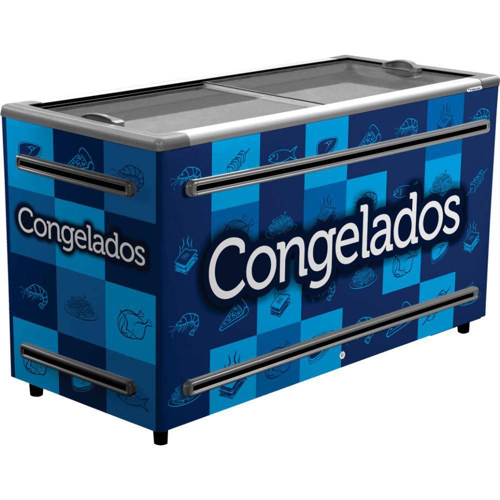 ILHA PARA CONGELADOS 1,5M ICED-503 AZUL 110V FRICON