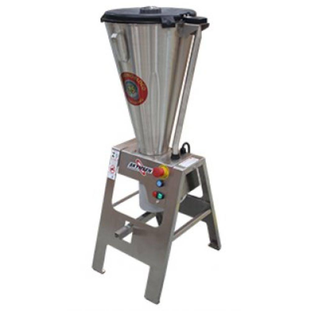 Liquidificador Comercial Basculante Cavalete E Copo Monobloco Inox Heavy Duty Lar-25Lmb-Hd