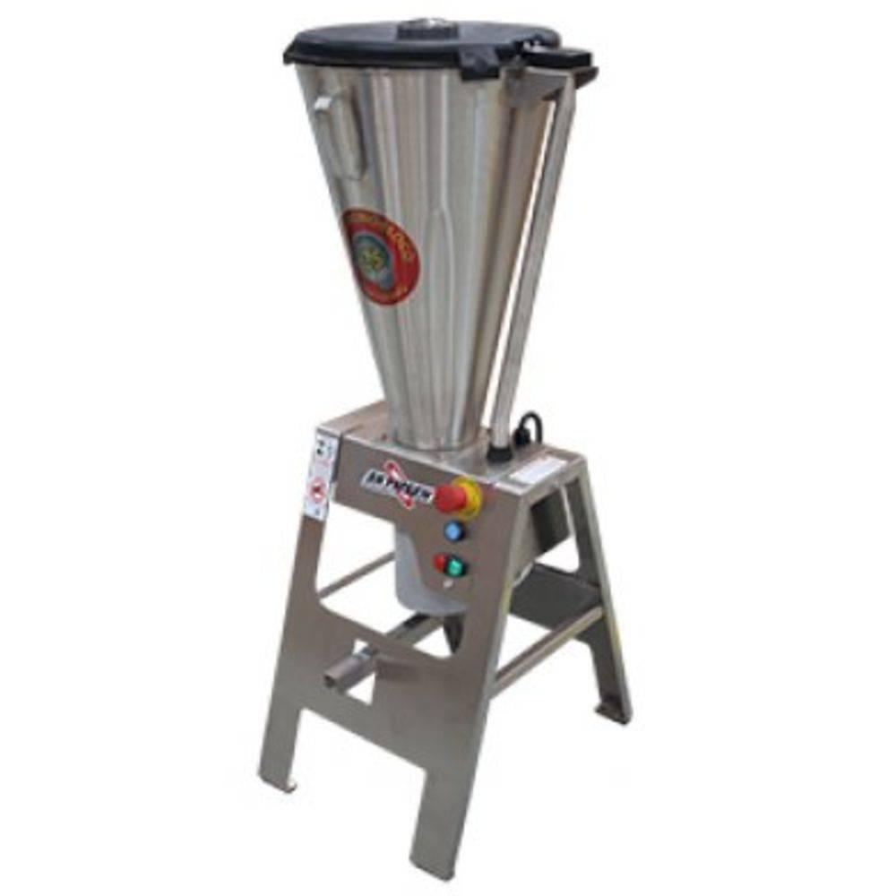 Liquidificador Comercial Basculante Cavalete E Copo Monobloco Inox Heavy Duty Lar-15Lmb-Hd