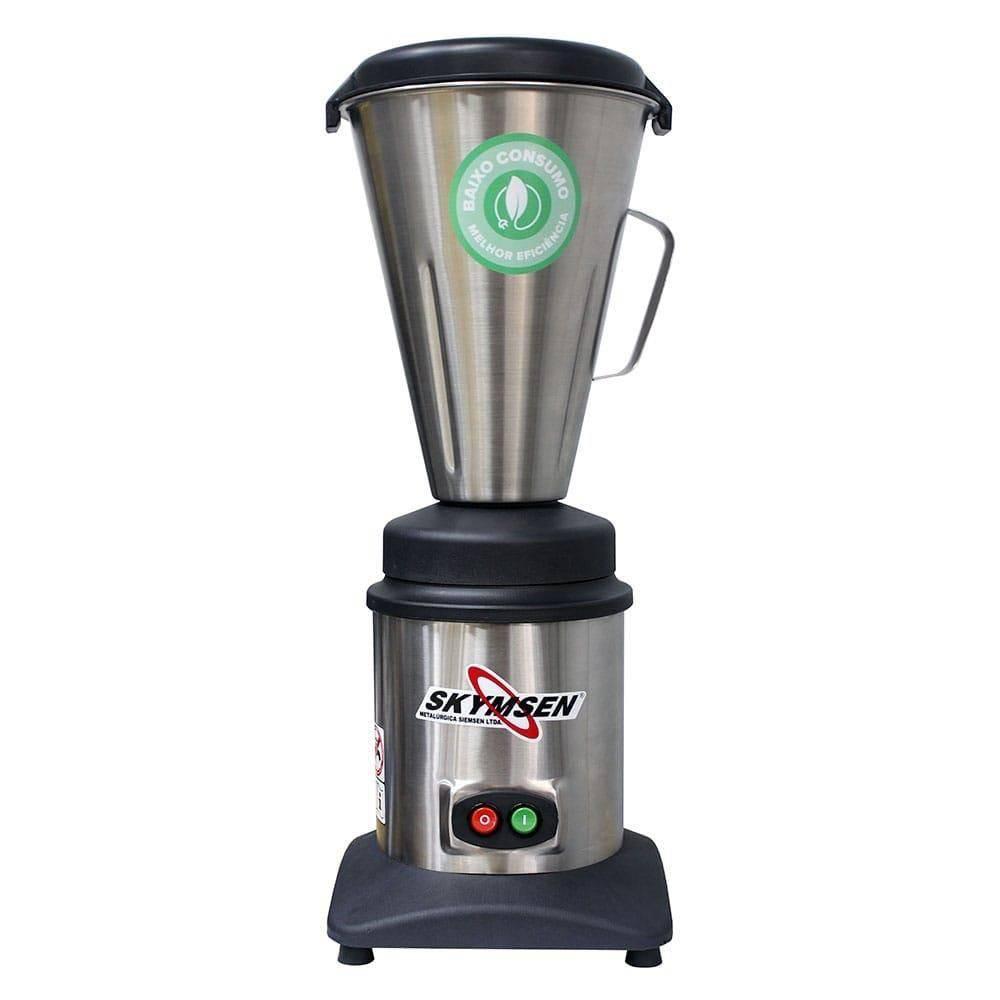 Liquidificador Comercial Inox Copo Monobloco Inox 3,6 Litros Lc3 127v Skymsen