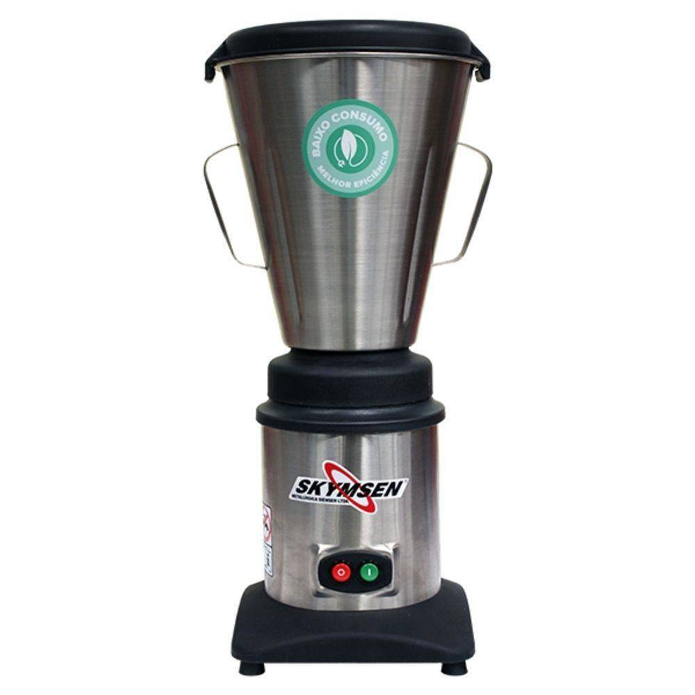 Liquidificador Comercial Inox  Copo Monobloco Inox  4  Litros Lc4