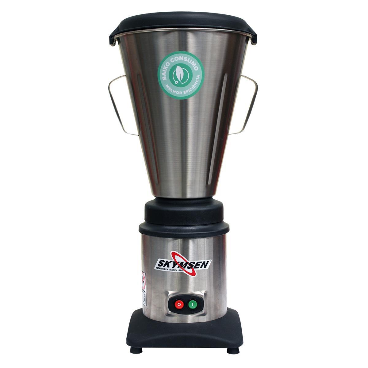 Liquidificador Comercial Inox Copo Monobloco Inox LC8 220v SKYMSEN