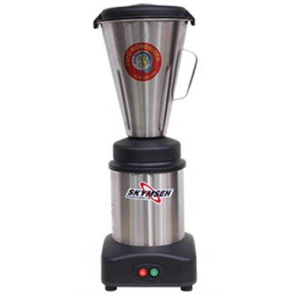 Liquidificador Comercial Inox Copo Monobloco Inox Ls-03Mb-N 220v Skymsen