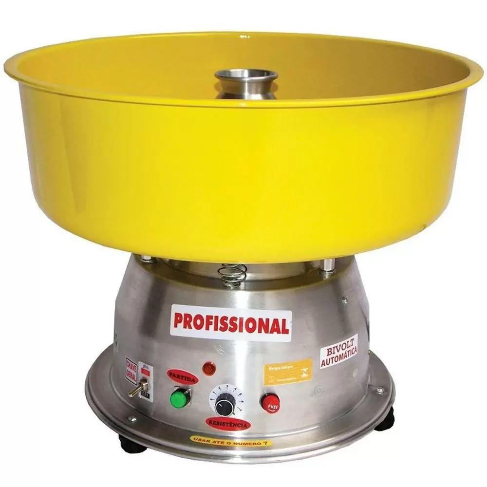 Máquina De Algodão Doce Clean Bivolt Profissional Ademaq
