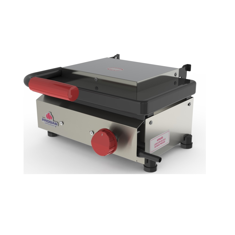 Mini Grill New Queen a Gás PR-220 GN Style Progás