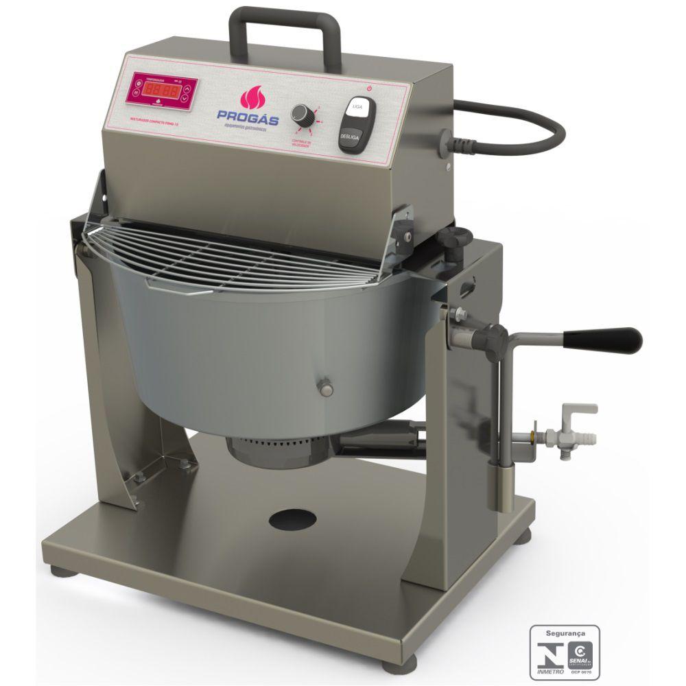 Misturador Compacto 10 Litros a Gás PRMQ-10 BIVOLT Progás