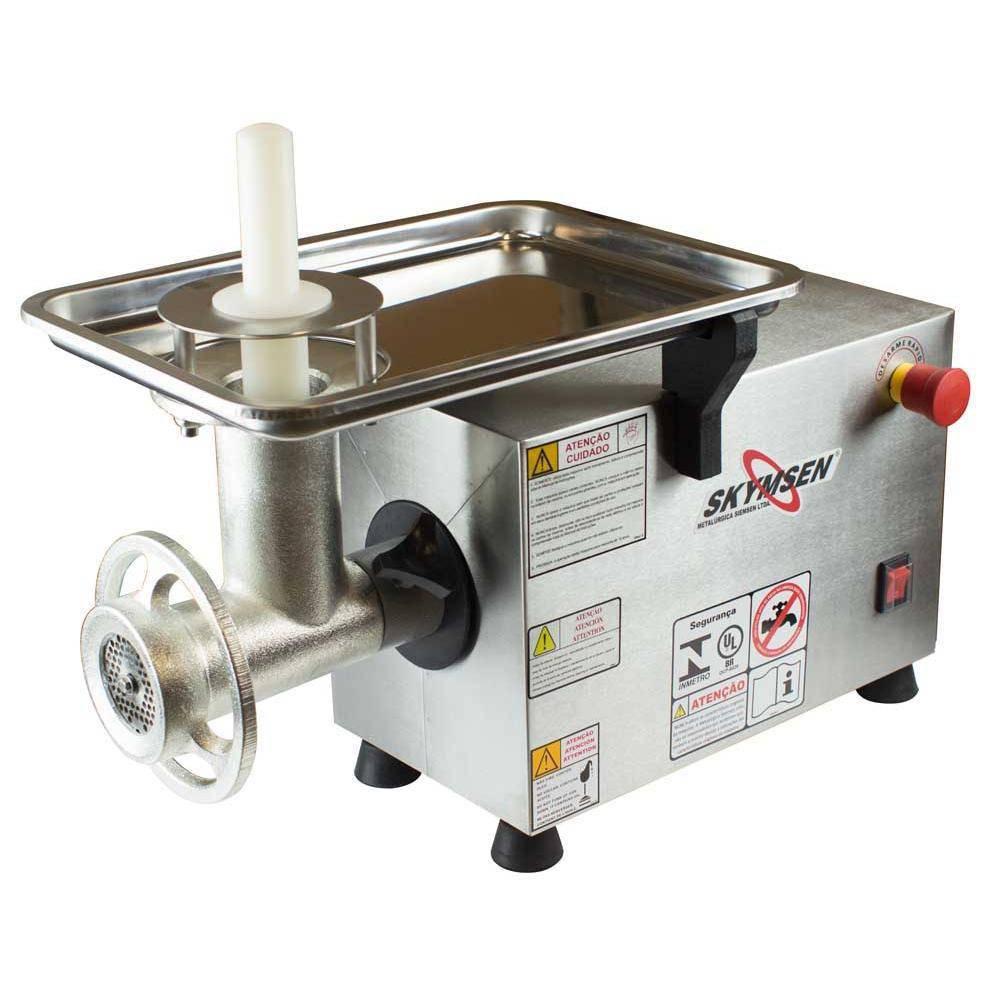 Picador De Carne Inox Boca 10 127V - Ps 10 Skymsen