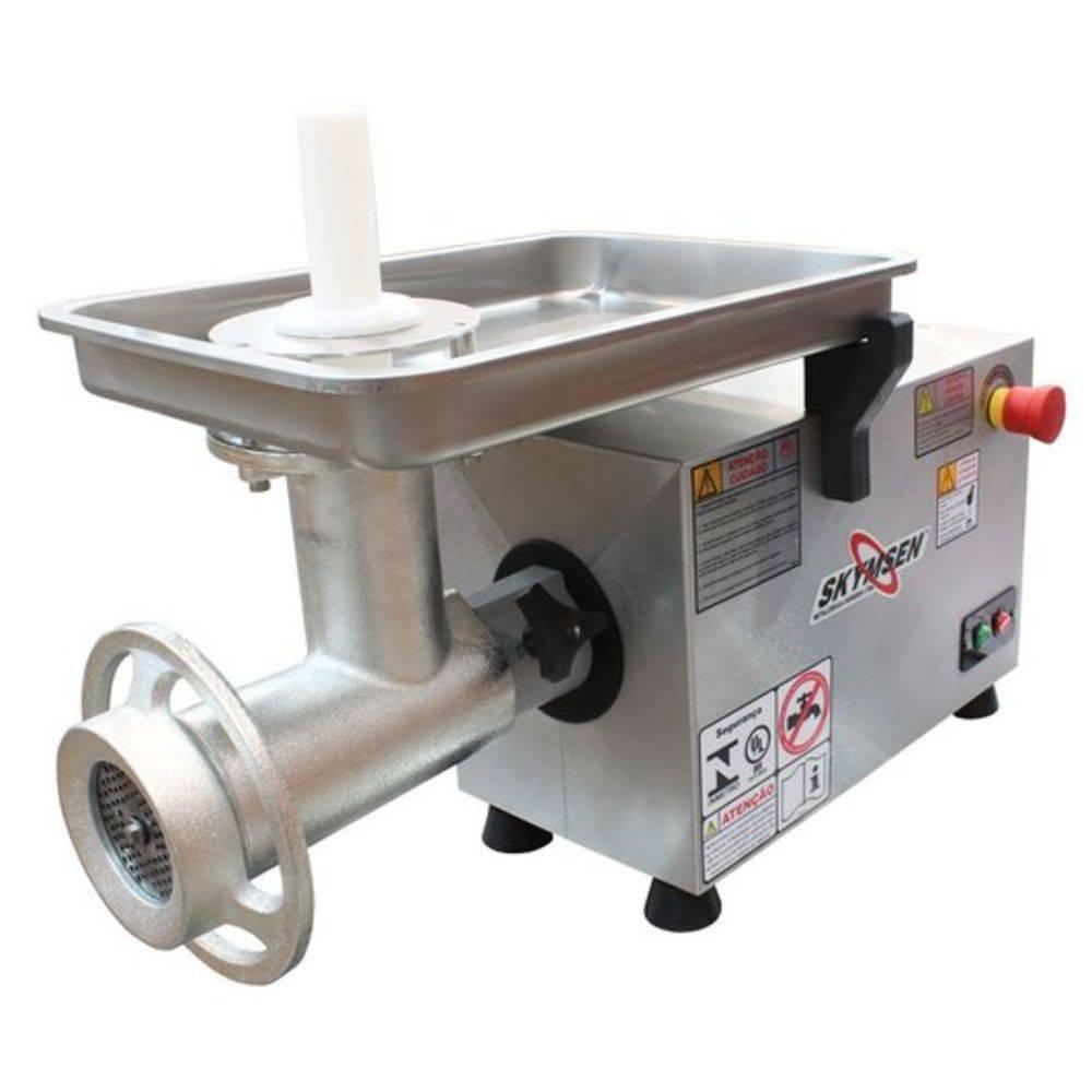 Picador De Carne Inox Boca 22 PS-22 127V Skymsen