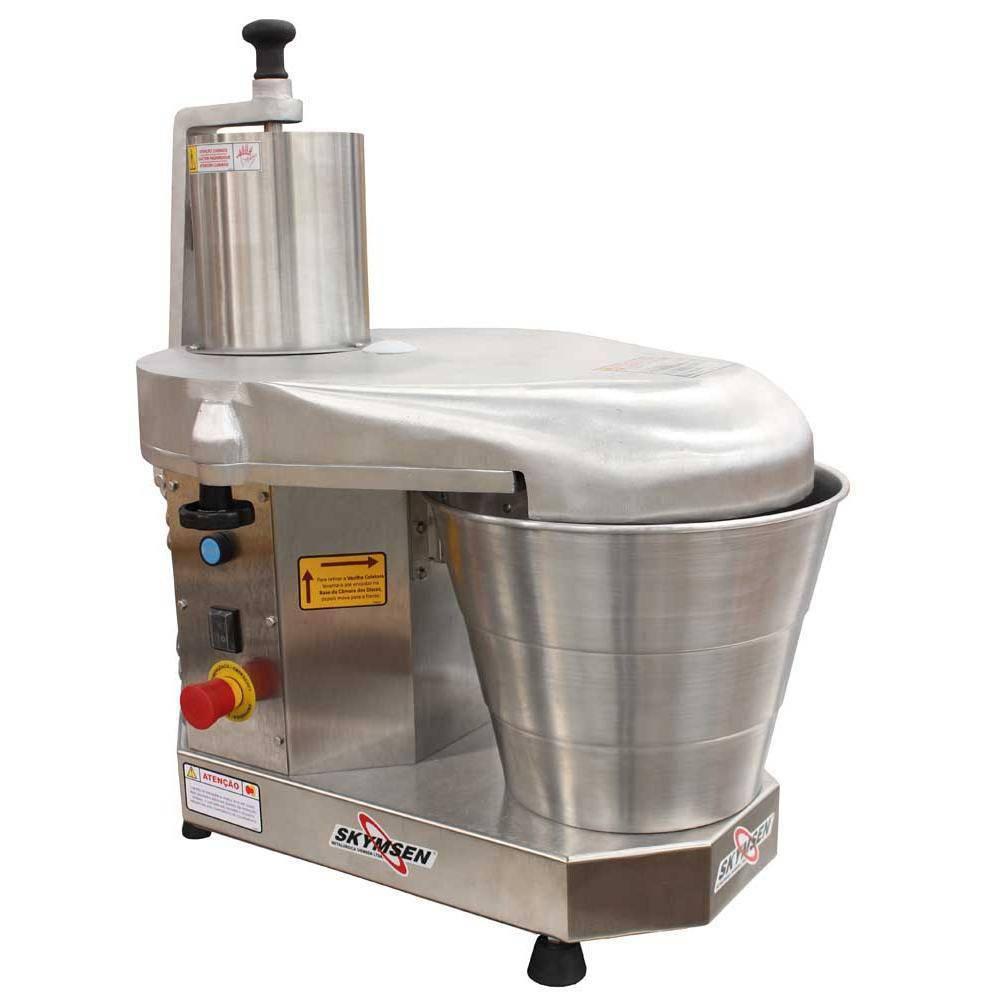 Processador De Alimentos Com 6 Discos Diâmetro 429 Mm Pa-14-N 220V Skymsen