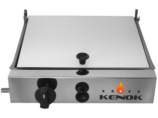 Sanduicheira com Prensa - Chapa 300,m X 250mm - ARMP-049 - Kenok