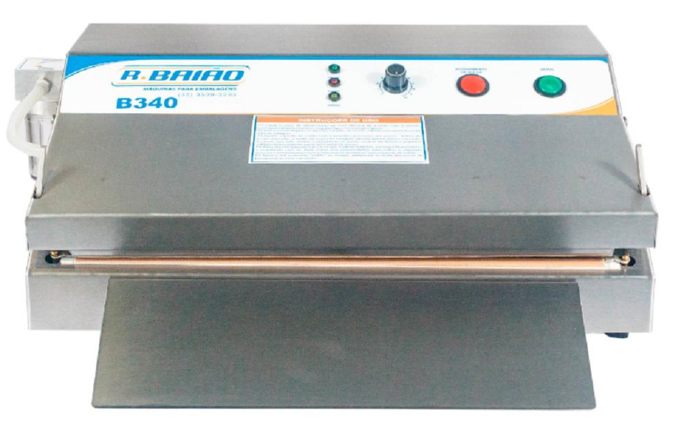 Seladora à Vácuo Bico Sucção Modelo Comercial B340  220V R.Baião