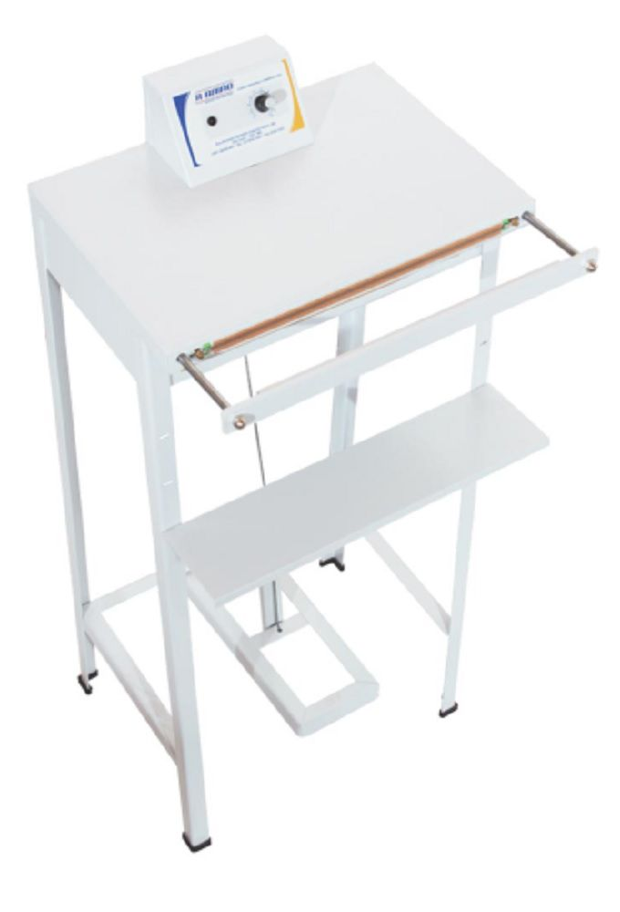 Seladora para Líquidos SELAMILK c/ mesa de apoio R.Baião