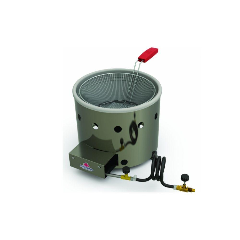 Tacho Fritura 3 litros com Cesto a Gás Alta Pressão PR-310G G2 Progás