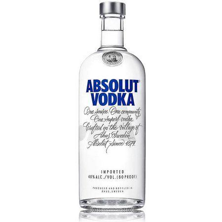 Vodka Sueca Absolut - 1 Litro