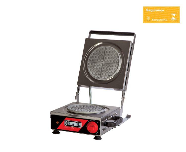 Máquina De Waflle Redonda 19 Cm 1.800 W Mwrs Croydon