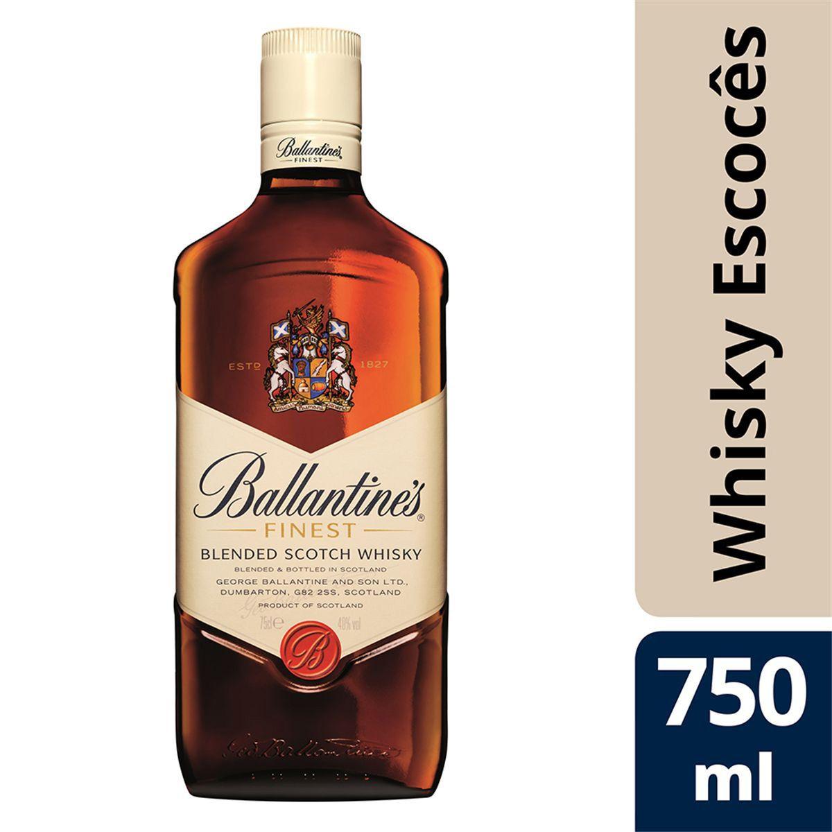 Whisky Ballantine`s Finest - 750ml