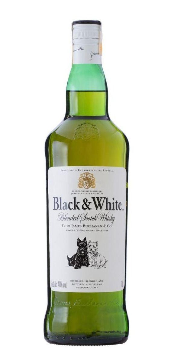 Whisky Black White Escocês 8 Anos 1 Litro