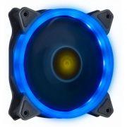 COOLER FAN V.RING VINIK 120MM 1110 R.P.M COM LED AZUL