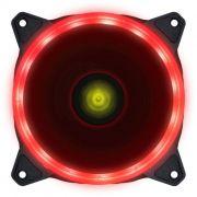 COOLER FAN V.RING VINIK 120MM 1110 R.P.M COM LED VERMELHO