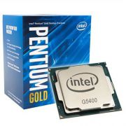 PROCESSADOR INTEL PENTIUM GOLD G5400 3.7GHZ CACHE 4MB LGA 1151
