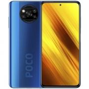 """Smartphone Xiaomi POCO X3 NFC Dual SIM 128GB de 6.67"""" 64 + 13 + 2 + 2MP / 20MP OS 10 - Cobalt Blue"""