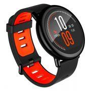 Smartwatch Xiaomi Amazfit Pace A1612 Bluetooth GPS Wi-Fi - Preto/Vermelho