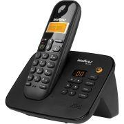 Telefone sem fio digital com secretária eletrônica Intelbras Ts3130 Preto