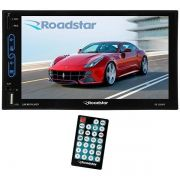 TOCA RÁDIO AUTOMOTIVO ROADSTAR RS-500MP5 TELA DE 7