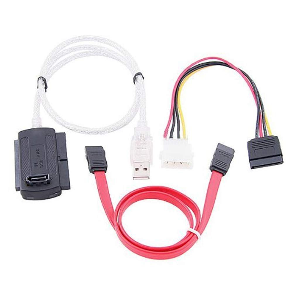 ADAPTADOR JIKATEC USB X SATA E IDE EXTERNO C/ FONTE  KCB-10