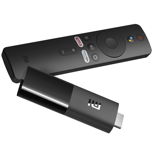 Adaptador para Streaming Xiaomi Mi TV Stick MDZ-24-AA Full HD com Wi-Fi e Bluetooth - Preto