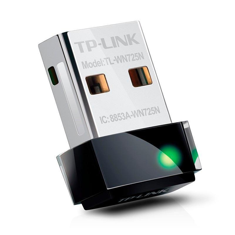 Adaptador Wireless USB Tp-Link Tl-Wn725N Wifi 150Mbps
