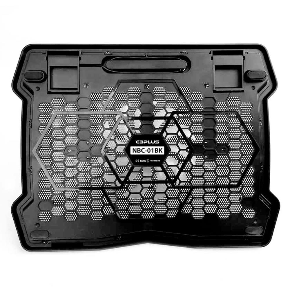 Base para Notebook C3Tech com Cooler NBC-01BK Preto