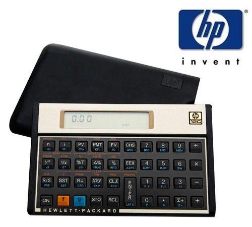 Calculadora HP 12C Gold Português