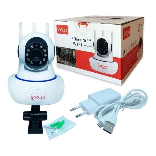 Câmera de Segurança IP ípega KP-CA127 Wi-fi 1080P 3 Antenas