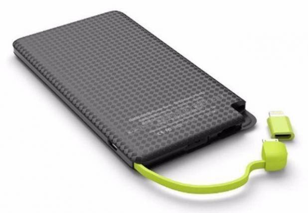 CARREGADOR PORTATIL PINENG 5000 MAH SLIM PN-952