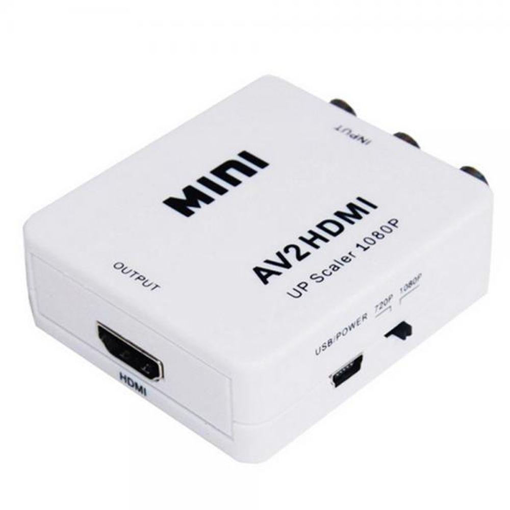 CONVERSOR DE VIDEO AVI2 INPUT X HDMI OUTPUT