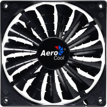COOLER DARK FORCE AEROCOOL 14CM BLACK FAN EN51349