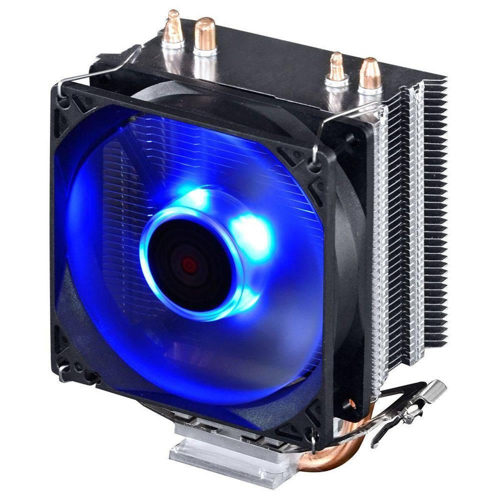COOLER PARA PROCESSADOR PCYES ZERO KZ2 2200 RPM  COM LED AZUL