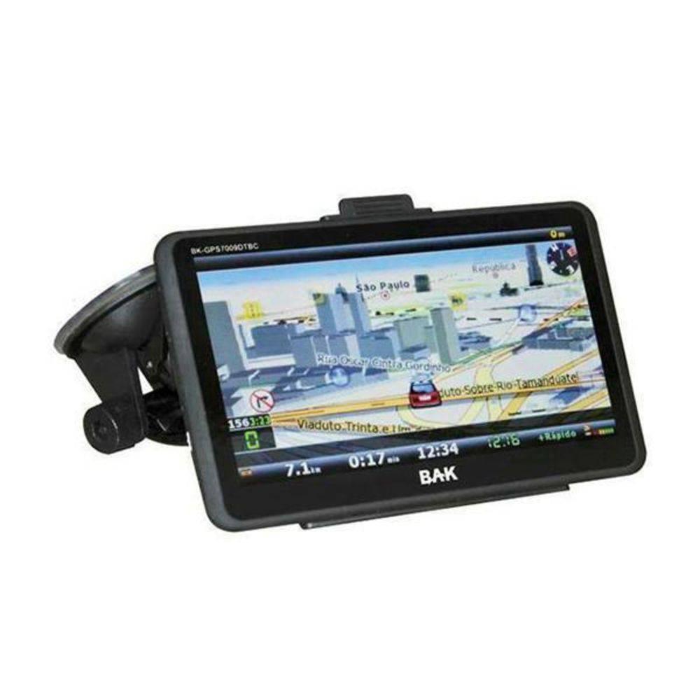 "GPS BAK 7"" BK-GPS7009DTBC COM CAM DE RÉ/BT/SD"