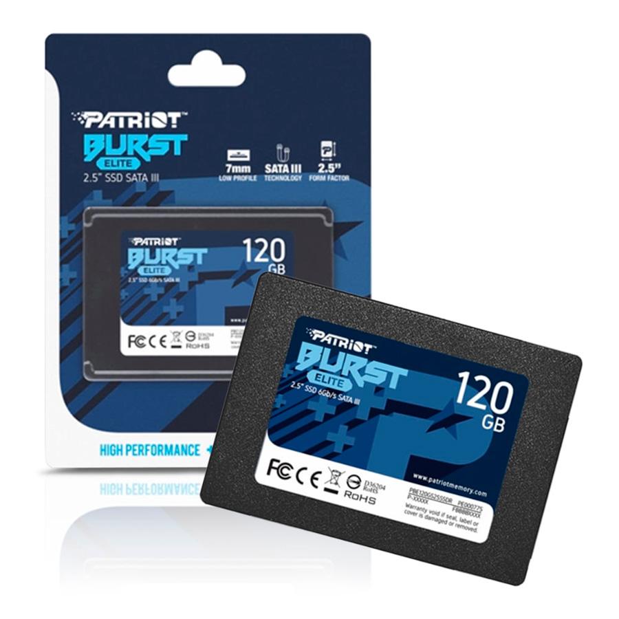 HD SSD 120GB PATRIOT BURST ELITE SATA III