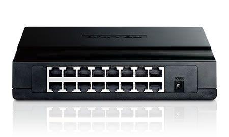 Hub Switch Tp-Link 16P 10/100 Tl-Sf1016D