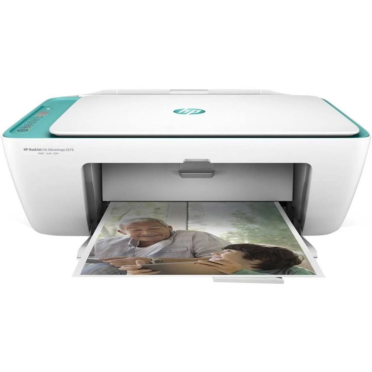 Impressora Multifuncional HP Deskjet Ink Advantage 2676 Colorida Wireless