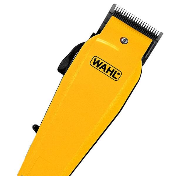 Máquina de Cortar Cabelo Wahl Home Pro 09243-6308 18 Peças 120V ~ 60Hz - Amarela / Preta