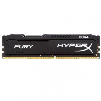 MEMÓRIA RAM DDR4 8GB 2400MHZ KINGSTON HYPERX FURY BLACK